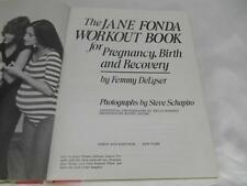 Old Vtg 1982 JANE FONDA WORKOUT BOOK FOR PREGNANCY BIRTH & RECOVERY  1st Edition