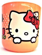 Enfants Mega-Brands Hello Kitty PLASTIQUE Rose Tasses F001300