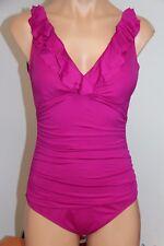 New Ralph Lauren Swimsuit Bikini 1 One piece Size 10 Pink PNK underwire