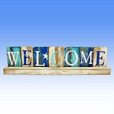 Beach Combers Standing Welcome Plaque