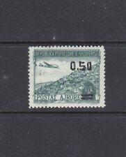 ALBANIA - 1952 - AIR MAIL OVERPRINT - SCOTT C61 - MNH