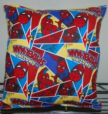 Amazing Spiderman Pillow Marvel Spider-man Classic Pillow HANDMADE in USA