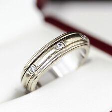 Modern Piaget 18ct white gold  Diamond engagement ring, wedding band.