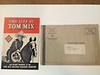 Tom Mix Straight Shooters Manual with Mailer.  c 1941