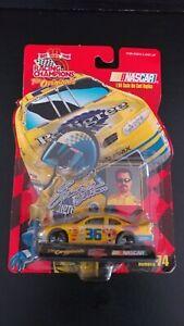 1999 Racing Champions The Originals Nascar # 36 Ernie Irvin Pedigree Issue #74.