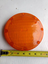 """KD 745 Weldon no. 1020  7"""" round amber turn turning lens amtran bus"""