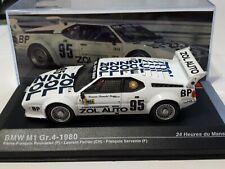 IXO 1/43 BMW M1 Gr4 #95 1980 LE MANS