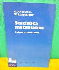 Andreatta Runggaldier STATISTICA MATEMATICA - Liguori 2006