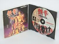 TEKKEN 1 Namco Ref/ccc PS1 Playstation Japan Video Game p1
