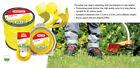 OREGON STARLINE yellow nylon trimmer strimmer line 2.4mm x 180 metres 69-453 NEW