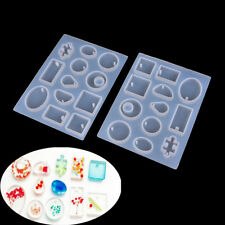Silicone Mold Resin Jewelry Making Mould Epoxy Pendant Craft MouldP&T