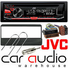 Ford Connect 2000-06 JVC Car Stereo CD MP3 Radio USB Aux Player RED Display Kit