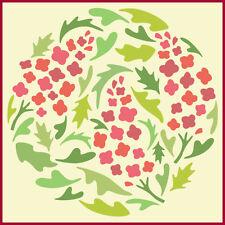 FLOWER CIRCLE 4 - FlORAL - BOTANICAL - The Artful Stencil