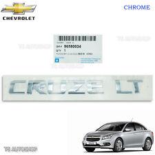 Chrome Rear Decal Genuine Logo Emblem Fits Chevrolet 2008 - 2014 Cruze Sedan
