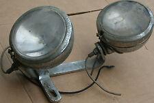 Used Original Guide Head Light Set Double Chopper Panhead 1960's Vintage (U-647