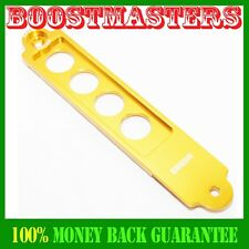 GOLD Billet Aluminum Battery Tie Down Bar For 2002-2006 RSX Brand New