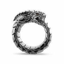 Norwegian Mythological Ouroboros Dragon Nidhogg National Wind Amulet Ring