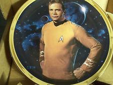 Star Trek 25Th Anniversary - Hamilton Collectors Plate - Kirk