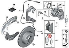 BMW OEM 14-16 328i GT xDrive Brake-Front-Brake Pads Retainer Spring 34116860087