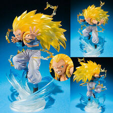 Japan Anime DBZ Dragon Ball Z Super Saiyan 3 Gotenks Figurine 16cm Battle No Box