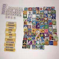 Melissa & Doug Magnetic Calendar Replacement Pieces Children's Over 100 Pieces