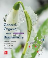 GENERAL ORGANIC AND BIOCHEMISTRY - DENNISTON - 9TH HARDCOVER US EDITION NEW 2016