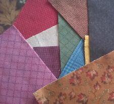 Flannel Fabric Pack remnants quilting patchwork bundles 100% cotton