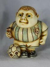 Harmony Kingdom Pot Bellys Ball Basher Soccer Mini Trinket Box Figurine No Box