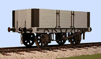 Slaters 7044 O Gauge Gloucester 5 Plank PO Wagon with side door Kit