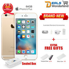 New Sealed Box Apple iPhone 6 Plus 64GB 4G LTE Smartphone Amber Gold Unlocked