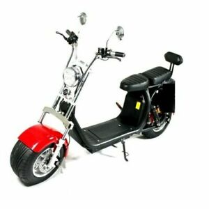 New Scooter E-scooter Street legal with big wheels 1500W 90km 45km/h 2 seats