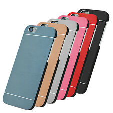 Handyhülle Schutz Hülle Hard Cover Case Schale iPhone Samsung S8 S8P Metall Alu