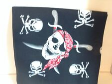 SKULLS PIRATE DESIGN SKULL BANDANA