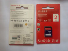 1pc sandisk sd card 2gb 2g class 2