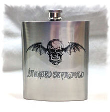 Avenged Sevenfold 7 ounce Stainless Steel Flask