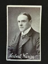 Vintage Postcard - Actor - Herbert Waring - Smart Series