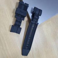 TOP Black Rubber Watch Band Strap Invicta Zeus Bolt 14071 inv107 26mm