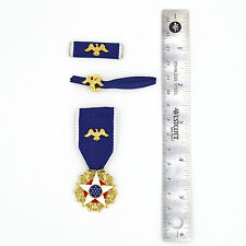 US Medal Order Presidential Medal of Freedom with Distinction, 3 Parts,Top Rare!
