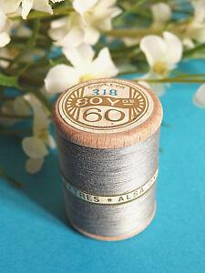 735B/Splendid Spool of Thread Alsa For Embroidery N°60 Steel Gray N° 318
