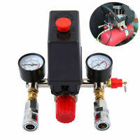 Compresor de aire Interruptor de control de Válvula Manómetro presión Regulador.