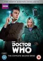 Doctor Who - Série 2 The 10th Doctor Saison 2 Deux Second 2nd Dr Who (6 Disque)