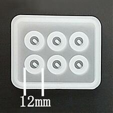 1 Silikonform  ca. 12 mm Perlen Mold Handwerk Resin Perlen Abformen Gießen -2964