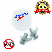 Speedo Swimming Ergo Ear Plugs-Water Earplugs Set Safe Durable 7530354-085