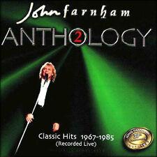 "JOHN FARNHAM ""Anthology2:ClassicHits1967-1985(RecordedLive)"" 1997 16Trk Live CD"