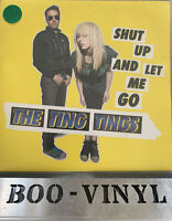 "7"" The Ting Tings - Shut up and let me go (Yellow Vinyl) NM / NM CON"