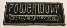 POWERWOLF - Patch Aufnäher Logo Gestickt aufbügelbar 4 x 10cm