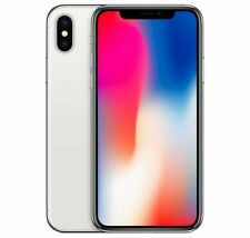 Apple iPhone X - 256GB - Silver (Unlocked) A1865 (CDMA + GSM) (AU Stock)