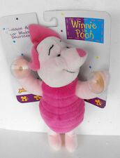 RARE Winnie the Pooh PIGLET plush figure with suction cups for in CAR MINT 2000