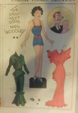 Blondie Sunday by Chic Young from 3/25/1934 Rare Paper Doll Full Page Size !