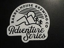 BARRELHOUSE BREWING Paso Robles California adventure STICKER craft beer brewery